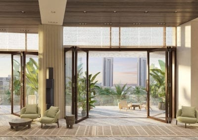 Artist Rendering, Koula at Ward Village Lobby