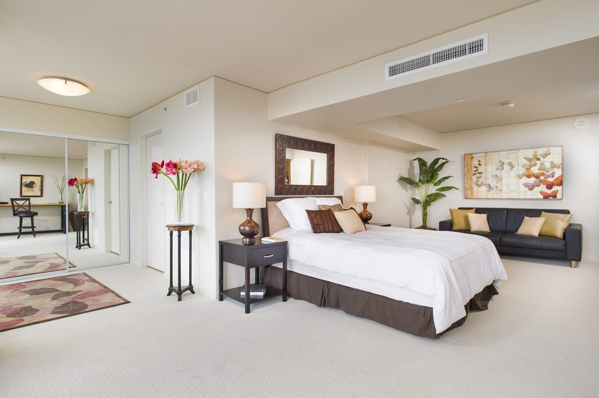 """""""After"""" Photo of Master Bedroom"""
