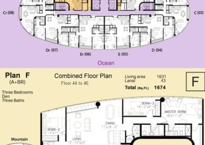 Moana Pacific Combined Floor Plan E
