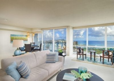 Moana Pacific Ocean Suite Living Room
