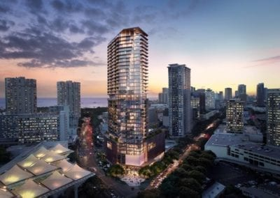 Artist's rendering of The Residences at Mandarin Oriental Honolulu