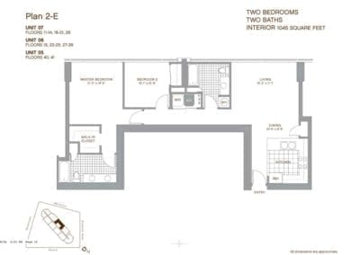 Keola Lai Floor Plan 2-E