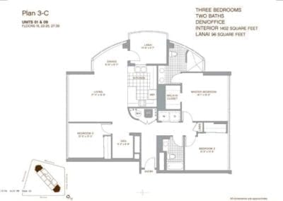 Keola Lai Floor Plan 3-C