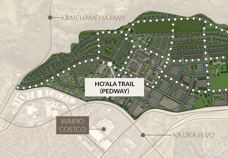 Koa Ridge Suburban Planned Community Map