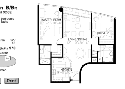 Moana Pacific Floor Plan B