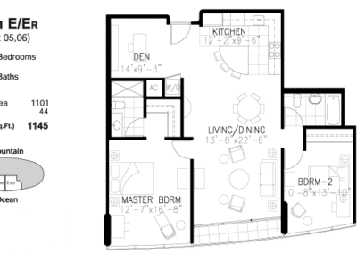 Moana Pacific Floor Plan E