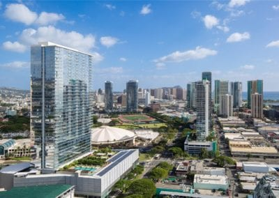 For Sale: Symphony Honolulu #1607, Aerial View of Building